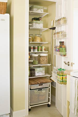 Kitchen pantry ideas for Pantry ideas for a small kitchen