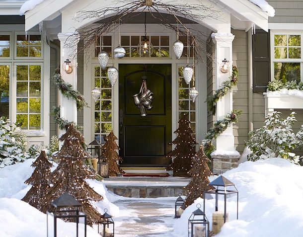 I Love This Wreath From Pottery Barn