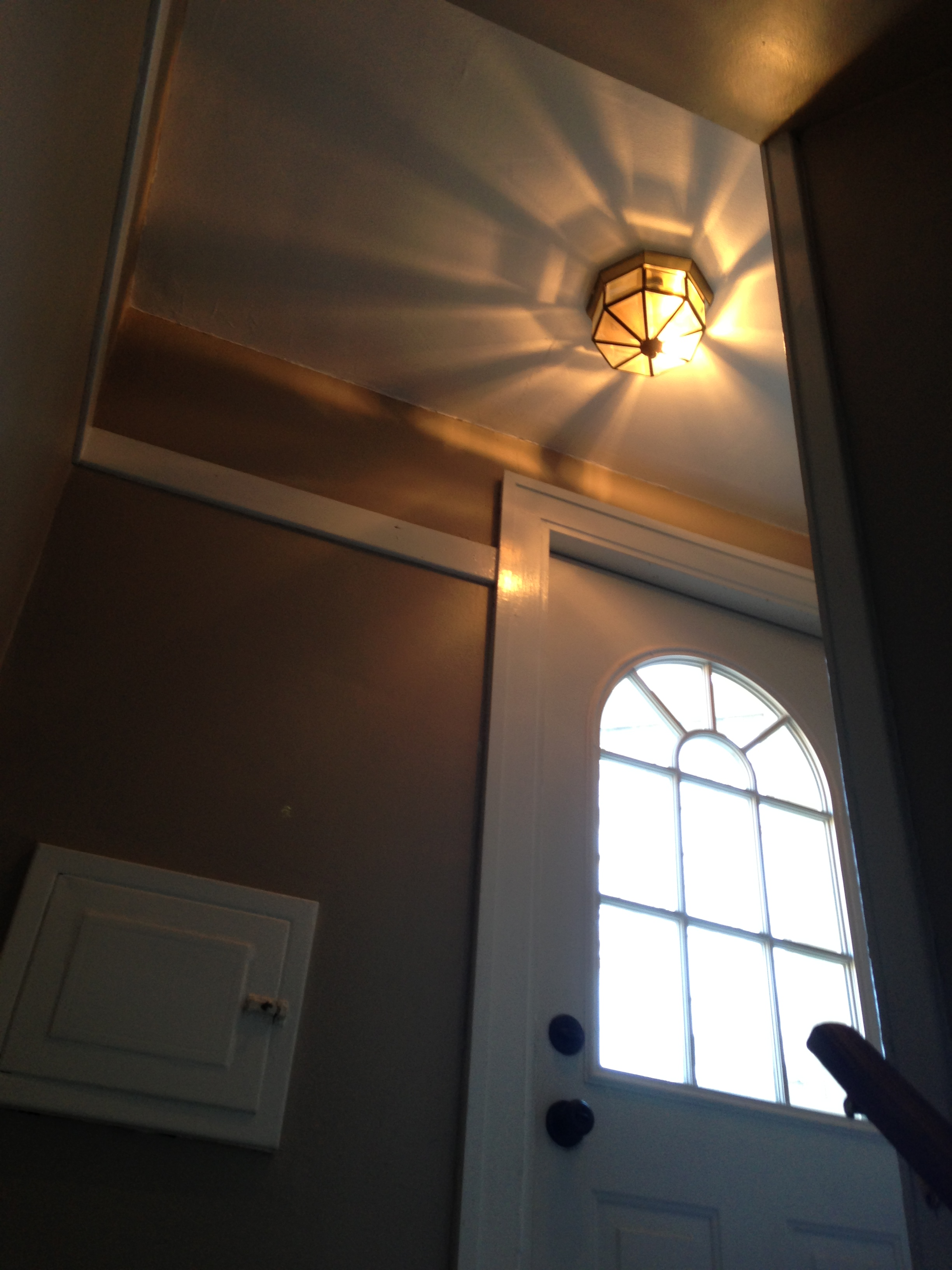 Locked Door Foyer Bonfire : Small updates to our back entryway the savvy bee