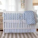 It's A Boy! Blue Nursery Bedding.