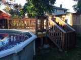 A New Deck for Our Pool