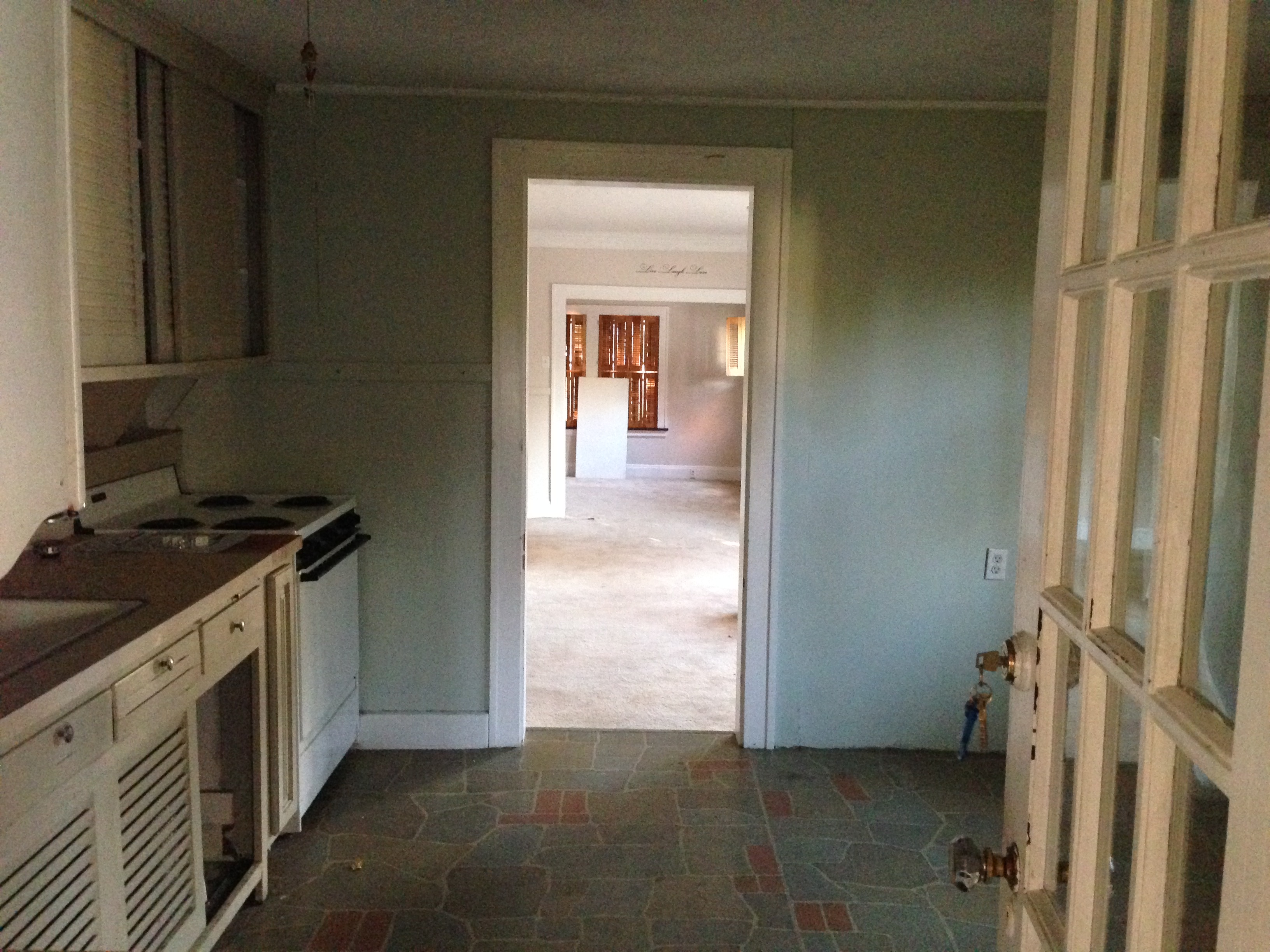 Back Entry to Kitchen