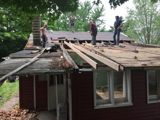 Back Roof Frame
