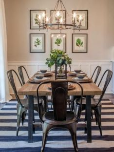 Industrial Farmhouse Dining